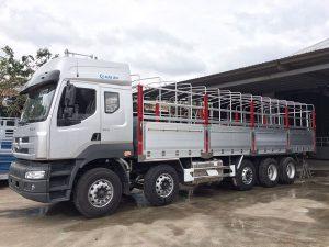 Định mức nhiên liệu xe tải 9 tấn